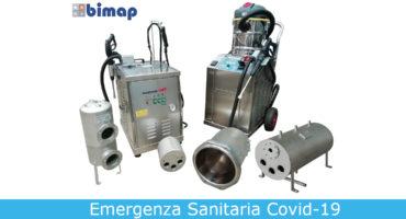 Utilizzo del vapore per la sanificazione di alimenti, ambienti professionali e industriali (COVID-19)