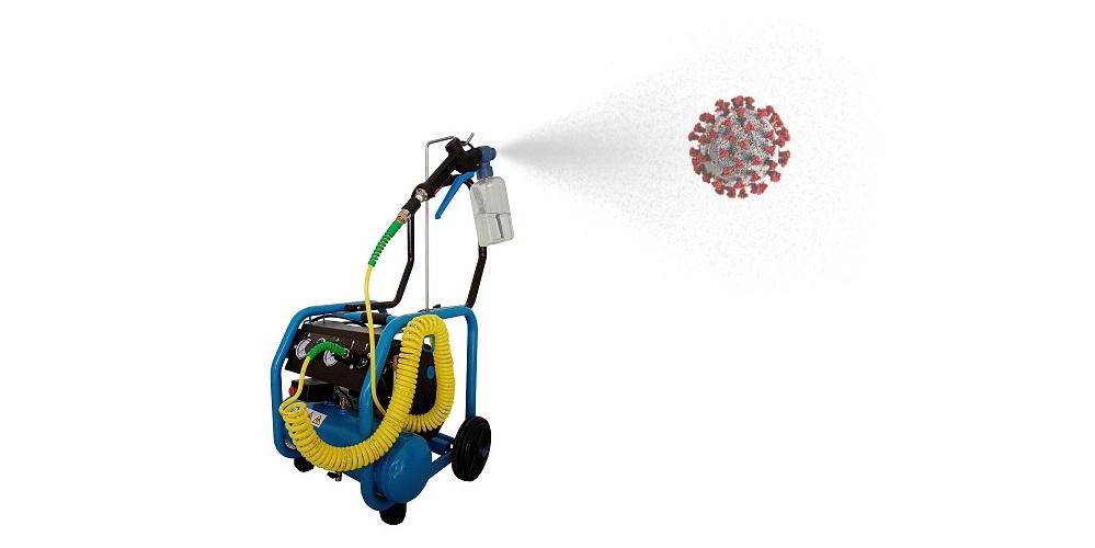 SANIKLIN - Dispositivo per la sanificazione a secco ed a freddo (COVID-19)